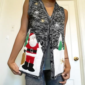 HOLIDAY TIME | Ugly Christmas Knit Sweater Vest